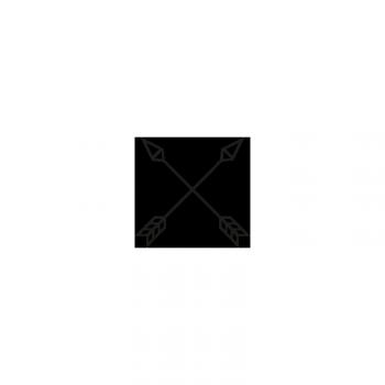 Topo - Backdrop Bag (schwarz / türkis)