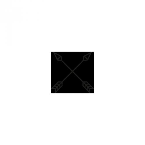 Topo - Cord Cap (schwarz / blau)