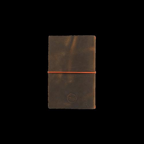 Word. Notebooks - Leather Jacket - Olive / Orange