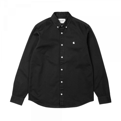 Carhartt WIP - L/S Madison Shirt (schwarz)
