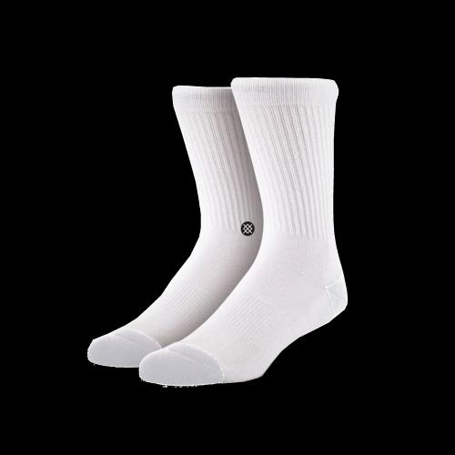Stance Socks - Icon (weiß / schwarz)