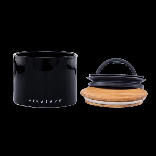 Planetary Design - Airscape Keramik Kaffeedose - small (obsidian)