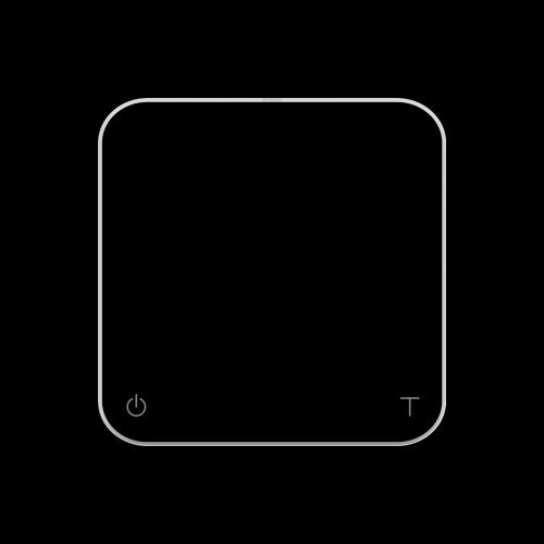 acaia - Pearl Präzisions-Kaffeewaage (Black)