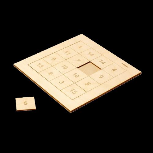 behäppi - Magic Square  Puzzle (16 Teile)