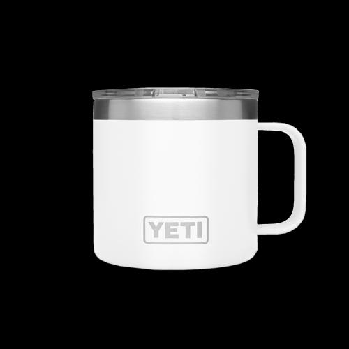 YETI - Rambler 14 Oz Tasse (white)
