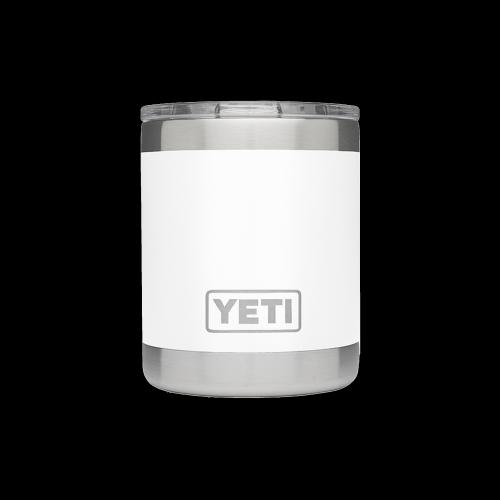 YETI - Rambler 10 oz Lowball (white)