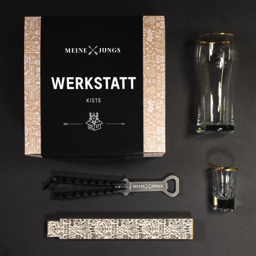 MEINE JUNGS - Werkstatt - Kiste