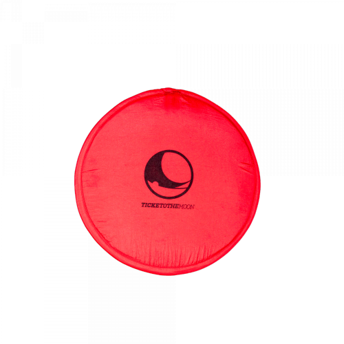 TICKET TO THE MOON - Pocket Frisbee Red