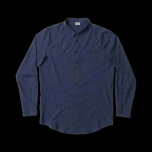 Houdini - M's Longsleeve Shirt (blau)