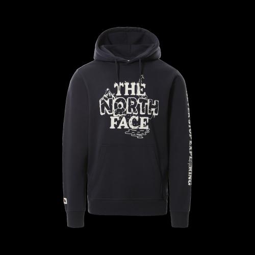 The North Face - M Him Bottle Hoodie (dunkelblau / weiß)