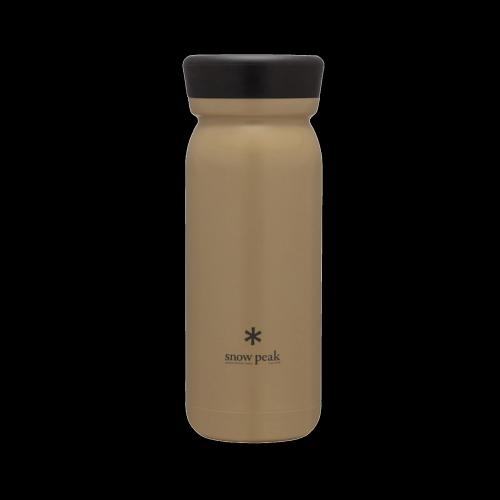 Snow Peak - Stainless steel Vacuum bottle M500 (sand)