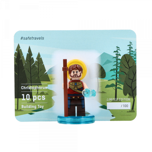 MEINE JUNGS - Mini Lego Figur Hl. Christophorus