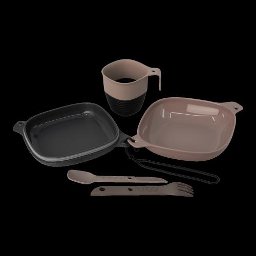 UCO Gear - Lunchbox 6-teilig grau-beige