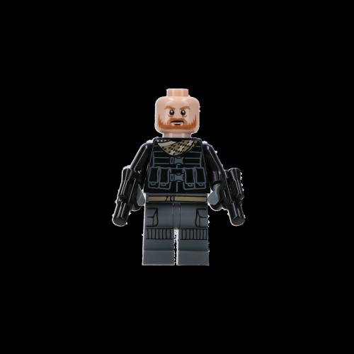 MEINE JUNGS - Mini Lego Figur Migs Mayfeld