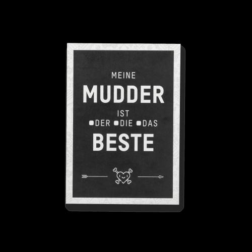 MEINE JUNGS - Postkarte - Beste Mudder