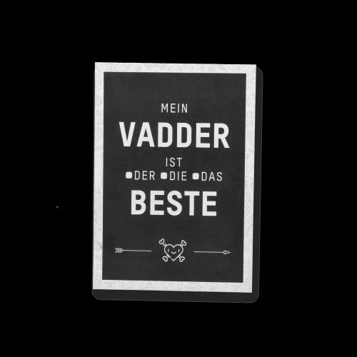 MEINE JUNGS - Postkarte - Bester Vadder
