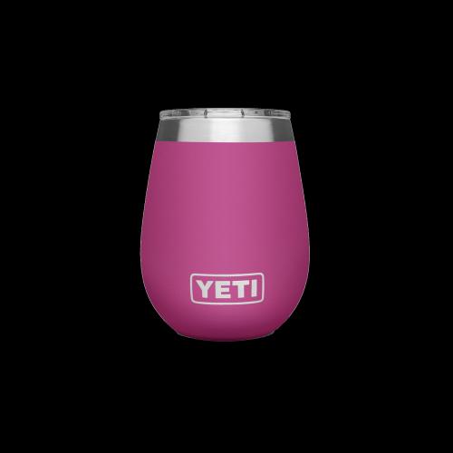 YETI - Rambler 10 Oz Wine Tumbler (Prickly Pear Pink)