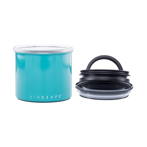 Planetary Design - Airscape Edelstahl Kaffeedose - small (turquoise)