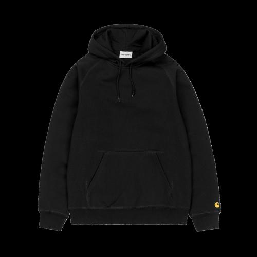 Carhartt WIP - Hooded Chase Sweatshirt (schwarz)