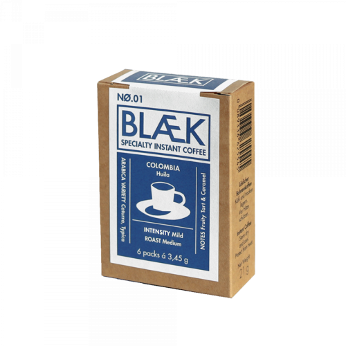 BLAEK - No.1 - Kolumbien - To-Go Box