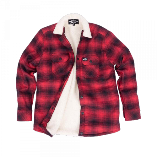 Loose Riders - Sherpa red Flanell
