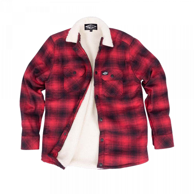 Loose Riders Sherpa red Flanell