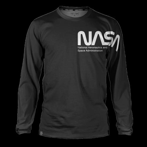 Loose Riders - MTB Jersey Langarm NASA Legacy (schwarz)