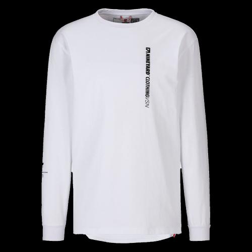 Nineyard - Pocket Long Sleeve (weiß)