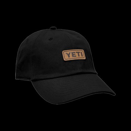 YETI - Leather Logo Badge 6 Panel Soft Crown Hat