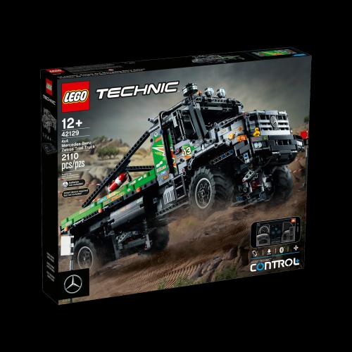 LEGO - 42129 Appgesteuerter 4x4 Mercedes-Benz Zetros Offroad-Truck