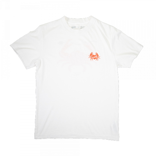 The Bakery MFG Co. - Love Waves Tee (faded white)