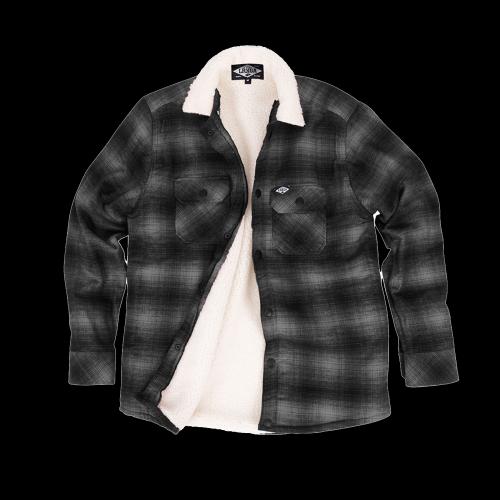 Loose Riders - Sherpa Grey Flannel