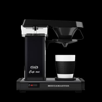Moccamaster - Filterkaffeemaschine Cup-one Mattschwarz