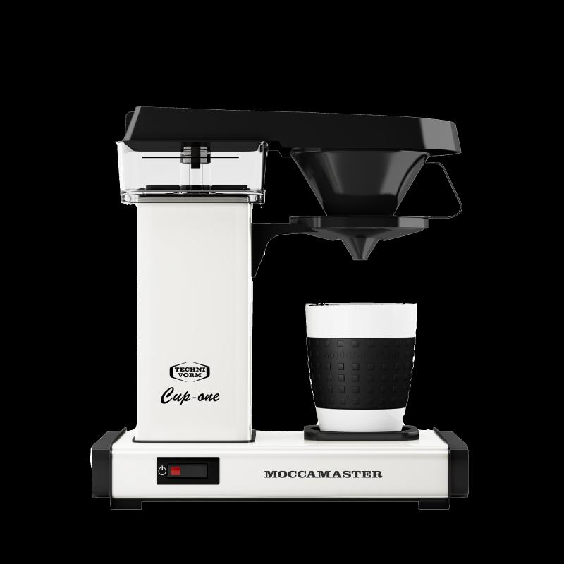 Moccamaster Filterkaffeemaschine Cup-one Cremeweiß
