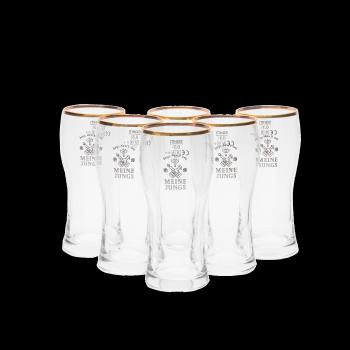 MEINE JUNGS - Biergläser »Benne« 0,3l / 6er Set