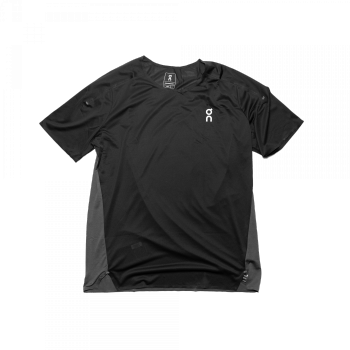 On - Performance T-Shirt (schwarz / grau)