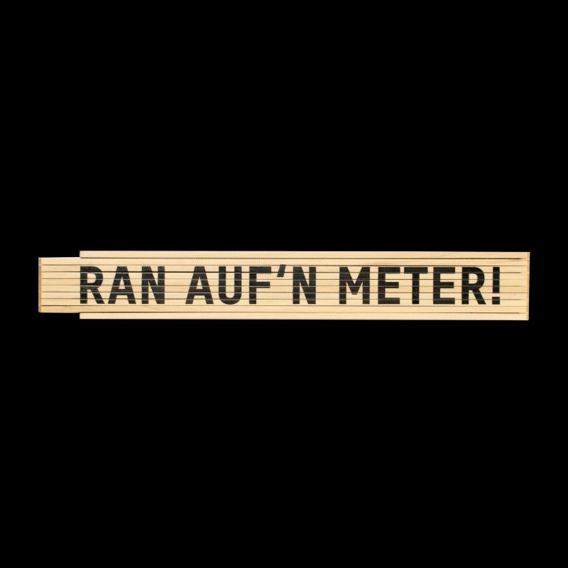 MEINE JUNGS Ran auf'n Meter! - Zollstock