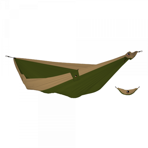 TICKET TO THE MOON - King Size Hammock Army Green - Brown