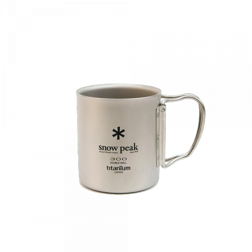 Snow Peak - Titanium double Wall Cup 300