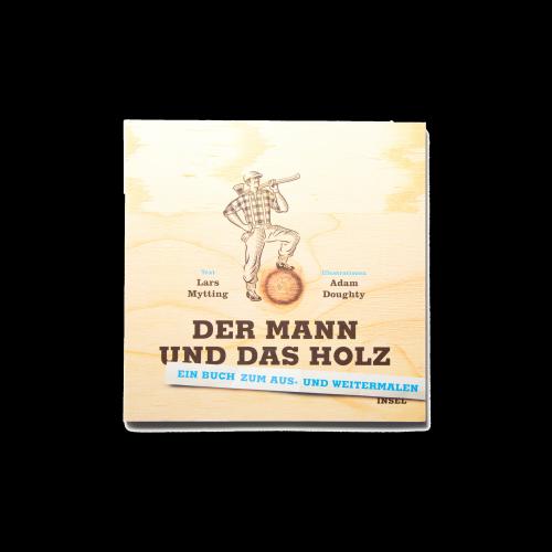 Suhrkamp / Insel Verlag - Ausmalbuch Holz