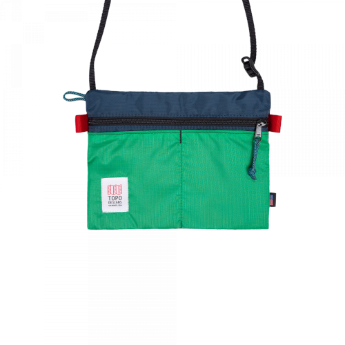 Topo - Accessory Shoulder Bag (navy / grün)