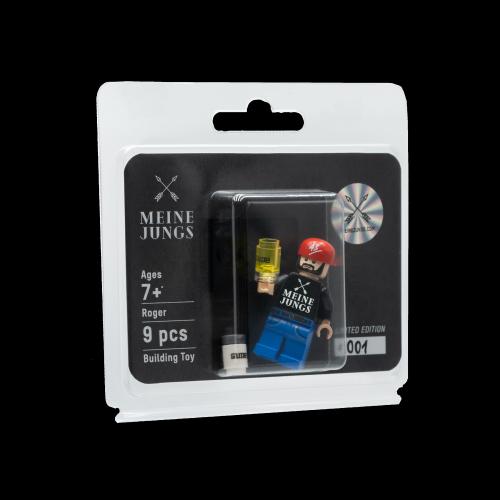 MEINE JUNGS - Mini Lego Figur Roger