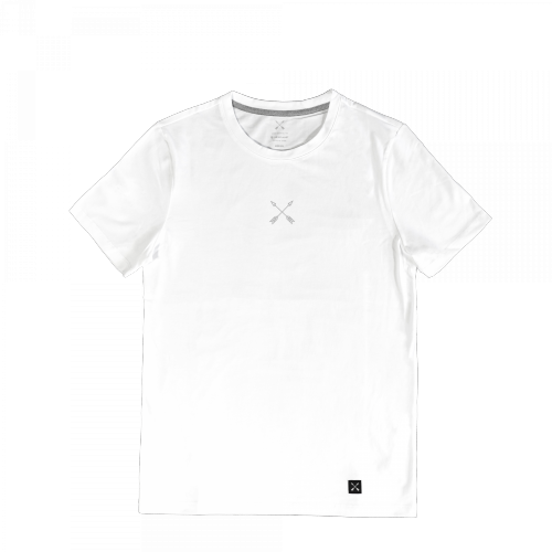 MEINE JUNGS - x Heimplanet Boys don't cry T-Shirt (weiß)