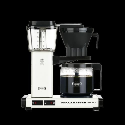 Moccamaster - Filterkaffeemaschine KBG Select Off-White