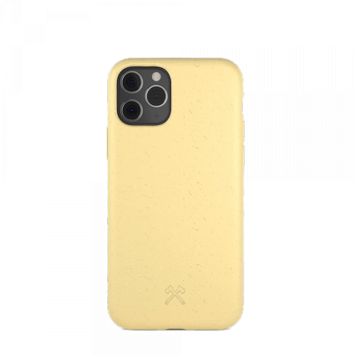 Woodcessories - Bio Case Antimicrobial - iPhone 11 Pro (gelb)