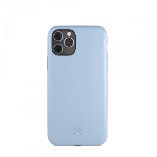 Woodcessories - Bio Case Antimicrobial - iPhone Pro (blau)