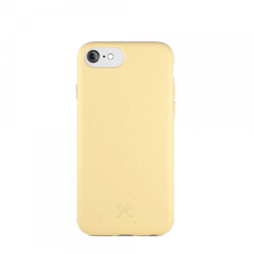 Woodcessories - Bio Case Antimicrobial - iPhone SE 2020 / 8 / 7 / 6 (gelb)