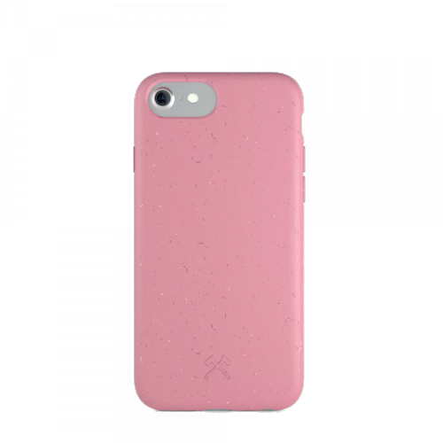 Woodcessories - Bio Case Antimicrobial - iPhone SE 2020 8 / 7 / 6 (pink)