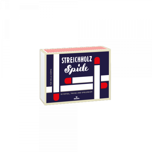 moses. Verlag GmbH - Streichholzspiele