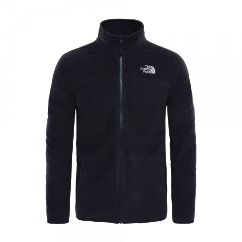 The North Face - 100 Glacier Full Zip Fleece Jacket (schwarz)